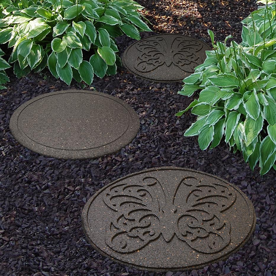 tire stepping stones