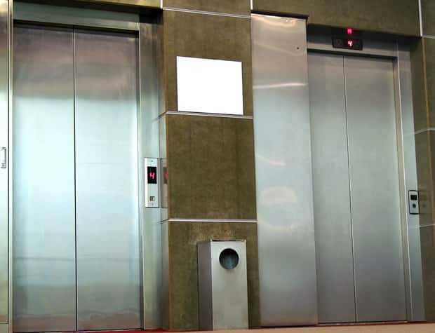 Canadians can be rude when it comes to boarding elevators