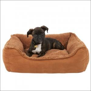 Grreat Choice Cuddler Plush Bed