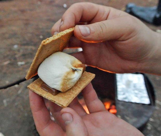 assembling the perfect s'more