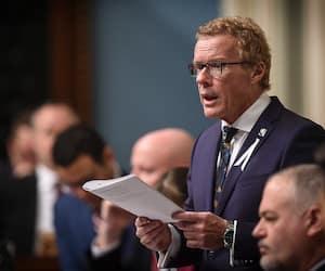 Le ministre Jean Boulet a déposé jeudi un projet de bonification du Régime québécois d'assurance parentale.
