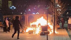 Image principale de l'article Manif anti-couvre-feu: grabuge, 7 arrestations