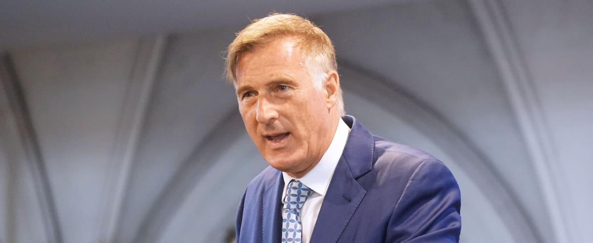 Fédérales 2021: vaincu en Beauce, Maxime Bernier vante la naissance d'un nouveau mouvement