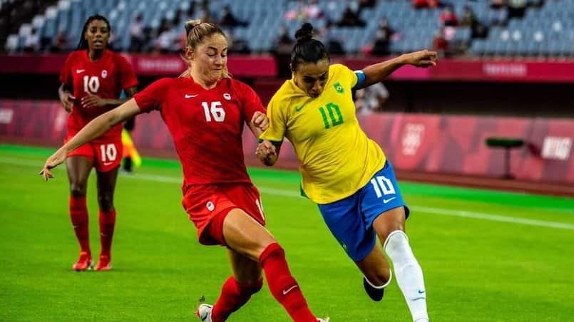 Soccer féminin: un gros match qui est très attendu