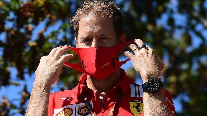 Sebastian Vettel, futur coéquipier de Lance Stroll