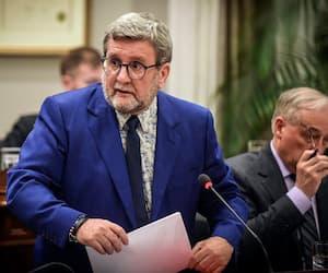 Le maire Régis Labeaume lors du conseil municipal de lundi 16 décembre 2019.
