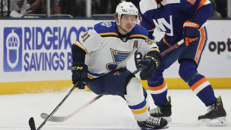 HKN-HKO-SPO-ST-LOUIS-BLUES-V-NEW-YORK-ISLANDERS