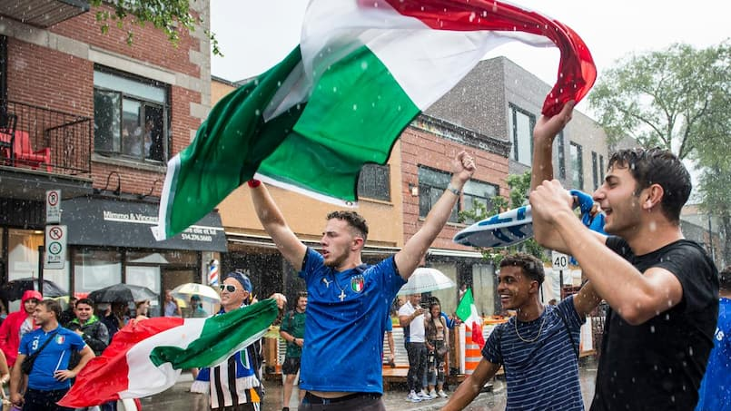 «Bella Ciao» l'Espagne: La Petite Italie vibre à la victoire de l'Italie