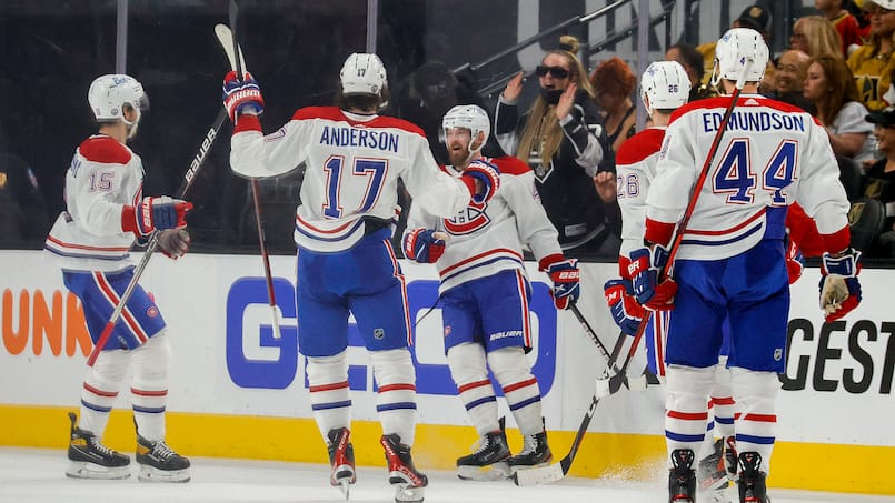 HKN-HKO-SPO-MONTREAL-CANADIENS-V-VEGAS-GOLDEN-KNIGHTS-GAME-TWO