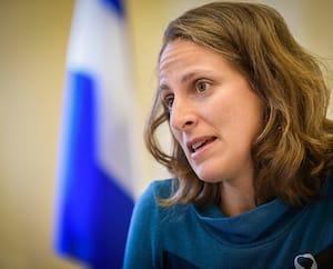 La porte-parole solidaire en matière d'éducation, Christine Labrie