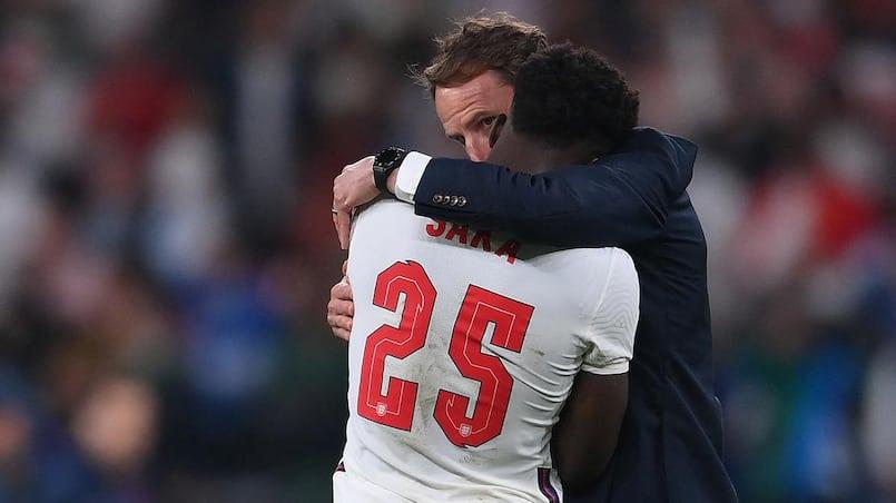 Southgate assume le «pari» perdu de l'Angleterre