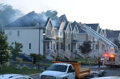 Un incendie à La Plaine jette au moins trois familles à la rue