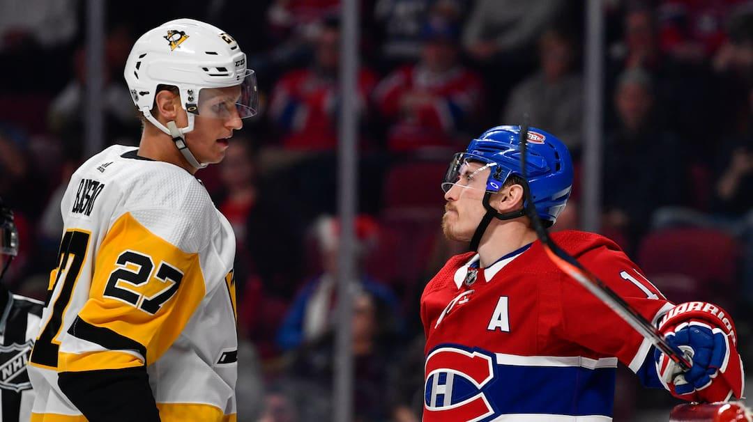 Penguins c. Canadiens