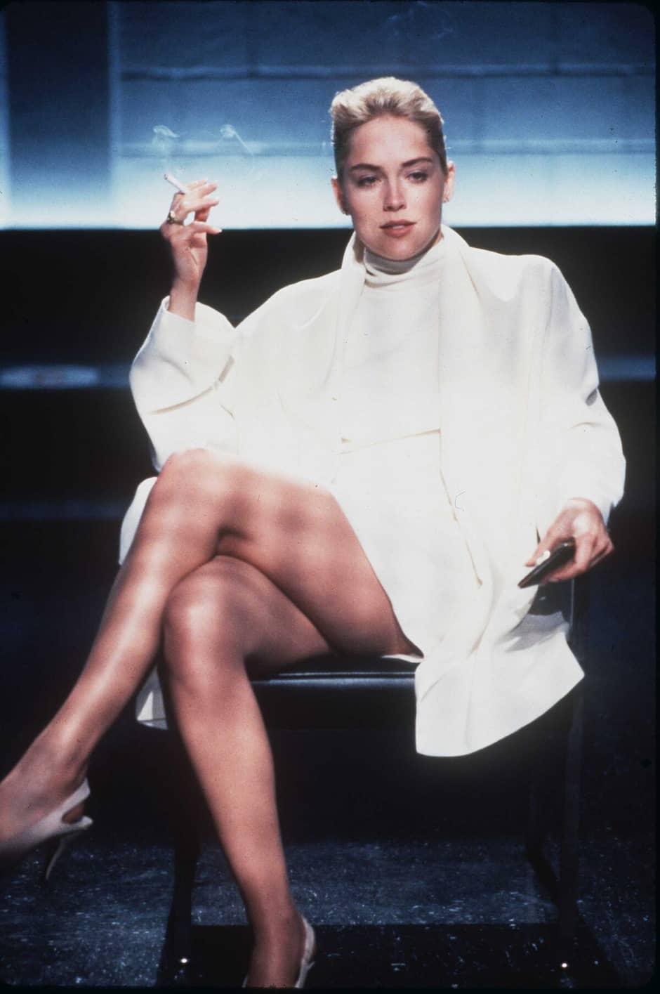 Sharon Stone a refusé de sasseoir sur les genoux dun