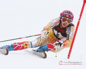 La skieuse Marie-Michèle Gagnon