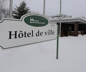 L'hôtel-de-ville de L'Ancienne-Lorette