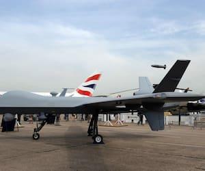 Photo d'un drone Predator B