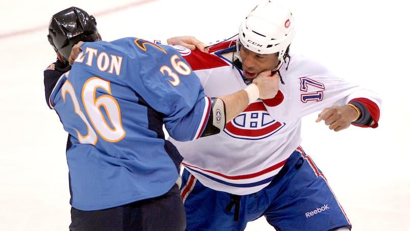 Thrashers vs Canadiens 2