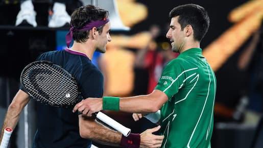 Australie: Novak Djokovic trop fort pour Roger Federer