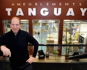 Jacques Tanguay, vice-président d'Ameublements Tanguay.