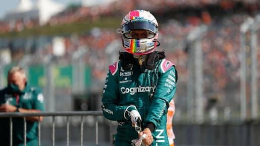 Aston Martin conteste la disqualification de Vettel