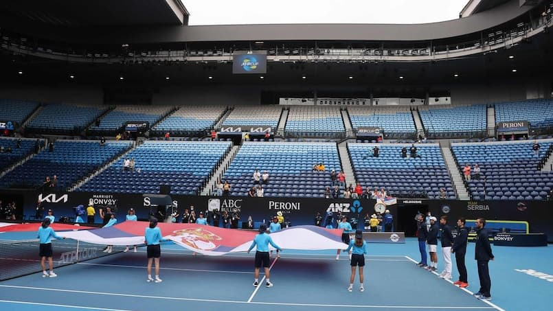 Tennis: entre 500 et 600 joueurs en isolement à Melbourne