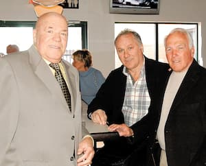 Jean-Guy Talbot avait été touché par la présence de Gilbert Perreault et Henri Richard lors d'une fête à Trois-Rivières.