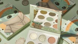 Image principale de l'article Une palette de maquillage inspirée par bébé Yoda