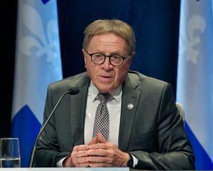 Le maire de Lévis Gilles Lehouillier