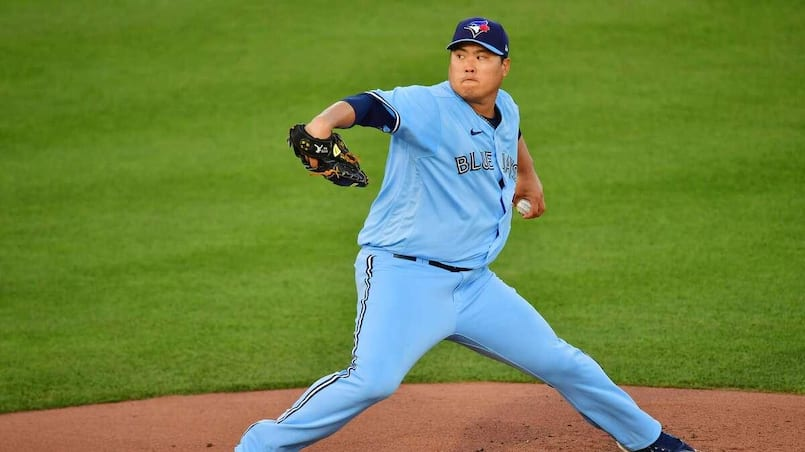 Hyun Jin Ryu s'occupe des Yankees