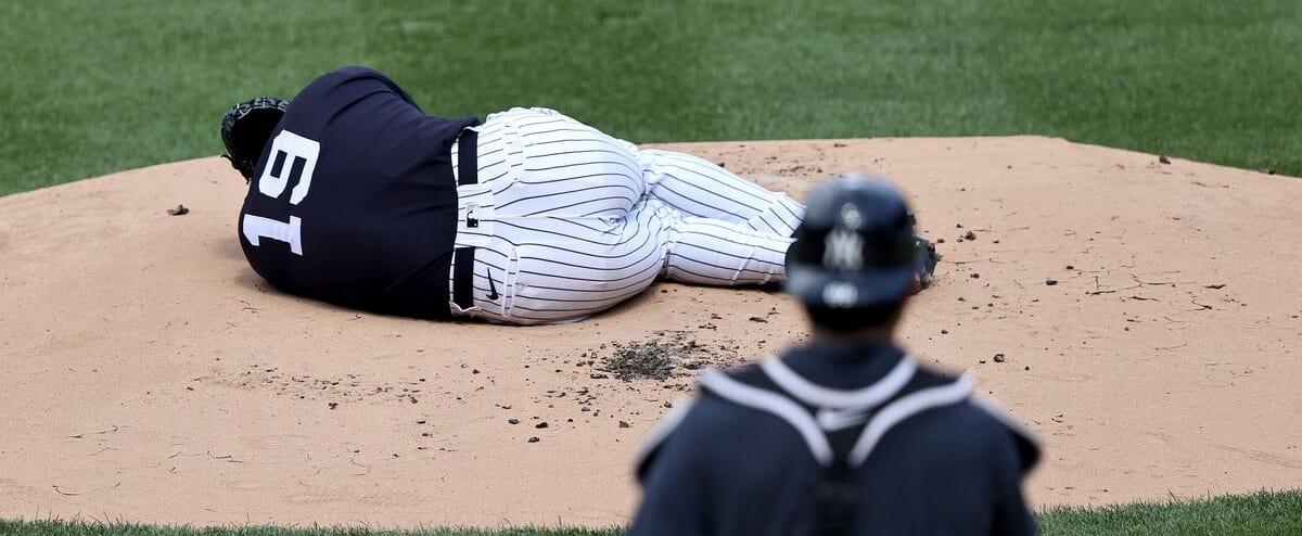 Scène effrayante chez les Yankees