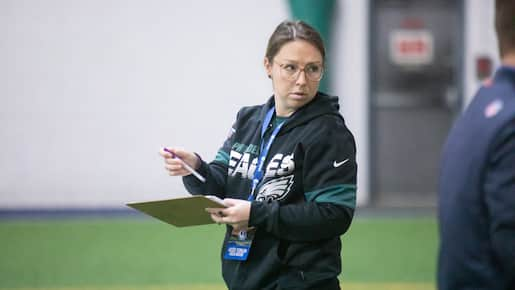 NFL: une page d'histoire pour Catherine Raîche