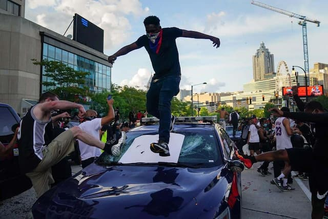 Manifestation à Atlanta