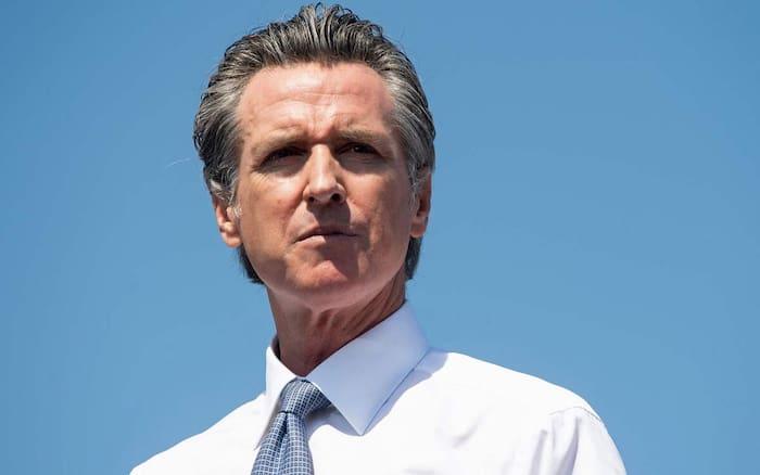 Le gouverneur de la Californie, Gavin Newsom