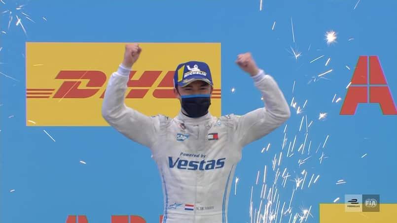 Formule E: Nyck de Vries s'impose à Valence