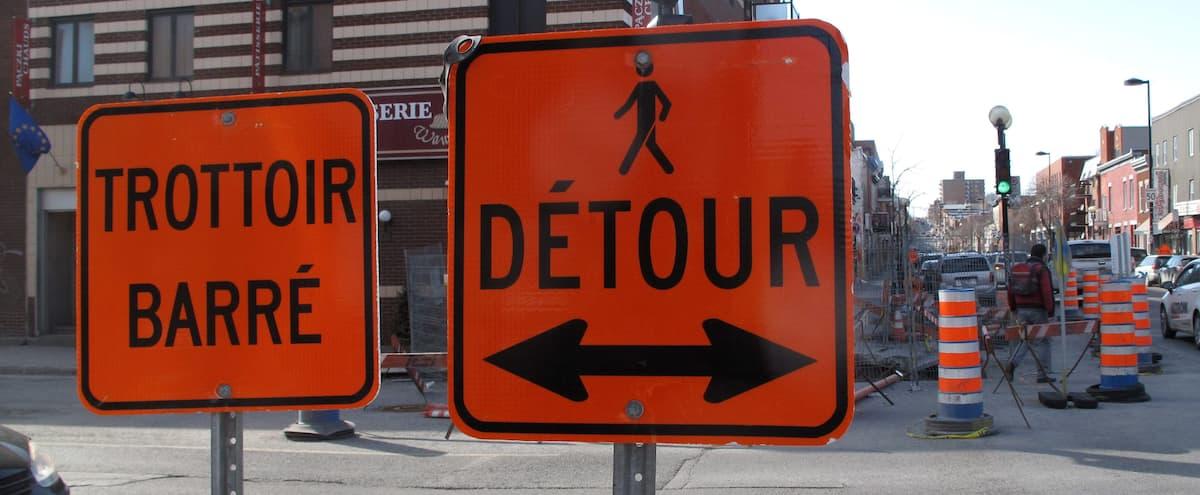 Montréal se dote d'une Charte des chantiers de construction