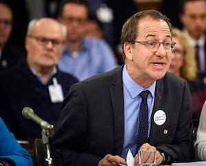 Alain Fortier, président dela Fédération des commissions scolaires du Québec.