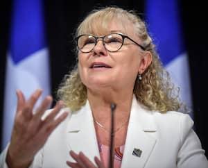 La ministre des Aînés, Marguerite Blais
