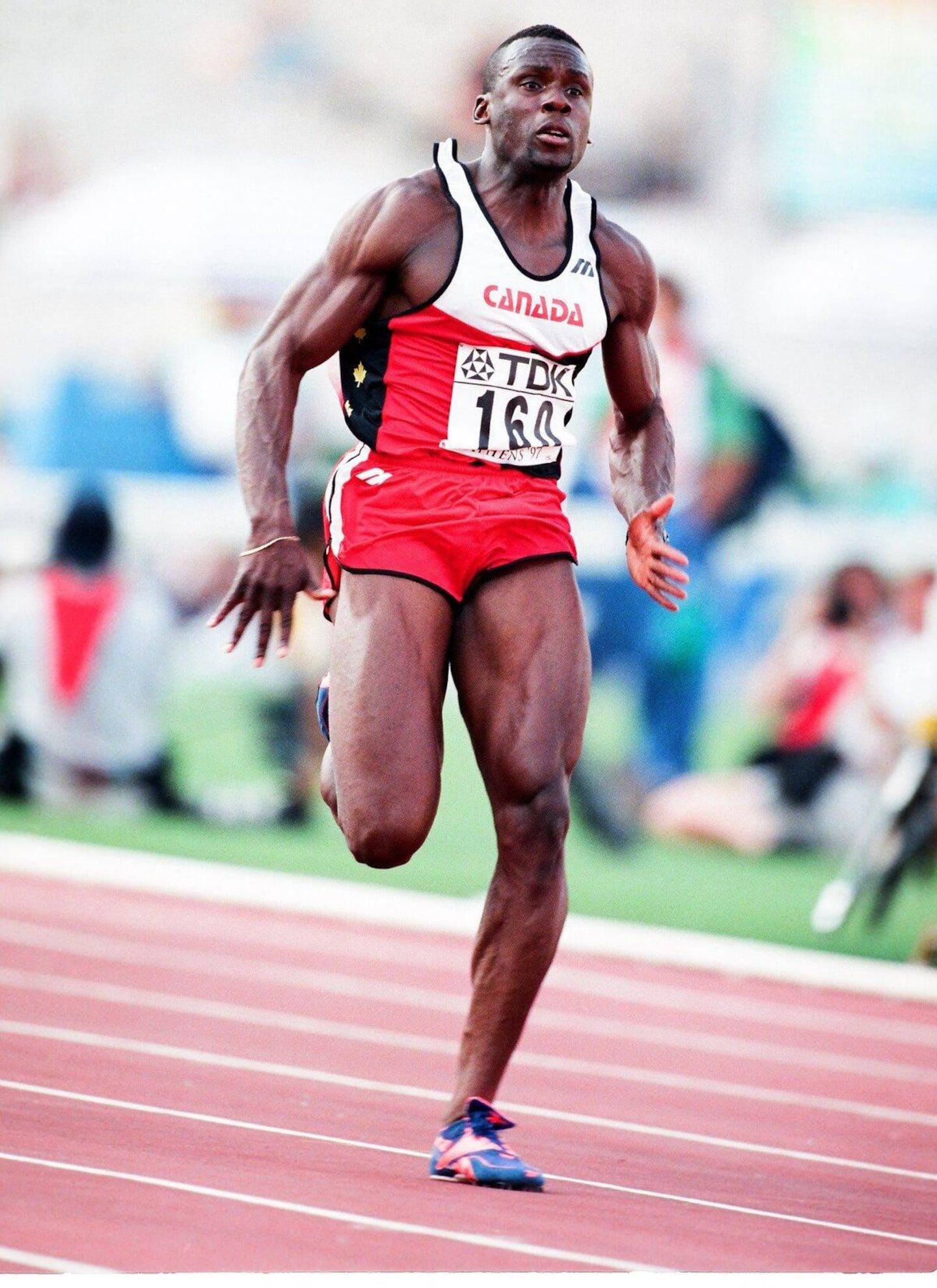 Jeux olympiques: il y a 25 ans, Bruny Surin remportait l'or au relais