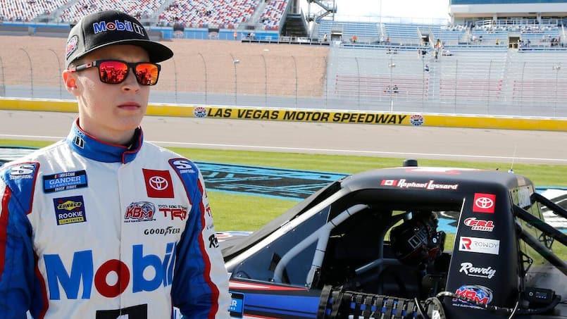 Raphaël Lessard en série NASCAR Pinty's à Vallée-Jonction