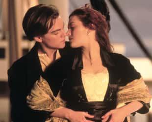 Leonardo DiCaprio et Kate Winslet, Titanic