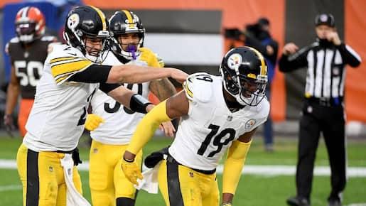 JuJu Smith-Schuster reste avec les Steelers