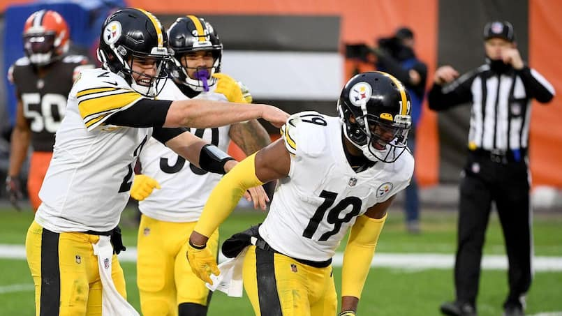 JuJu Smith-Schuster reste avec les Steelers