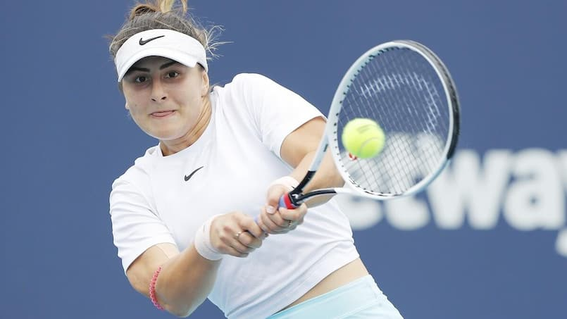 Même victorieuse, Bianca Andreescu déclare forfait