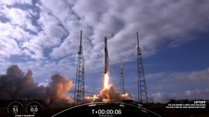 Image principale de l'article Un nombre record de satellites dans l'espace