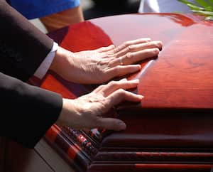 Husband and Wife Funeral Farewell