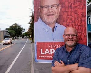 François Lapointe, candidat libéral dans Montmagny-L'Islet-Kamouraska-Rivière-du-Loup.