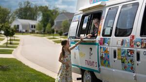 Image principale de l'article Il achète un camion de glace pour ses enfants