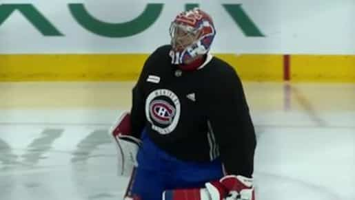 À VOIR: Carey Price de retour sur la glace!