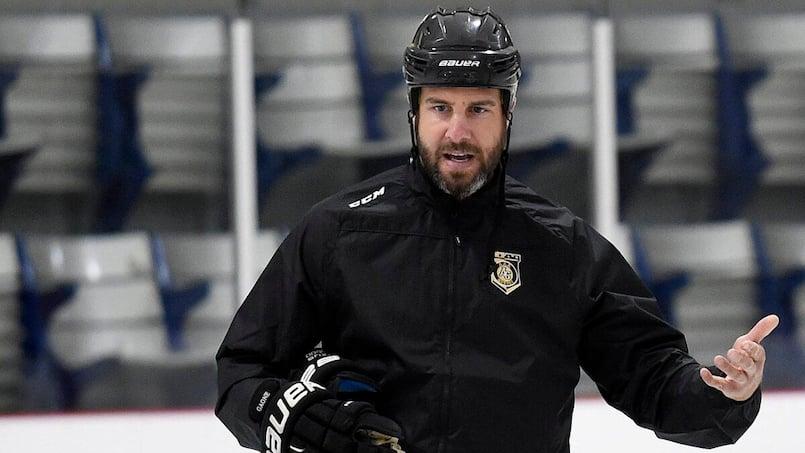 CH: Simon Gagné veut sauter sur la glace